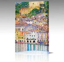 "16x12"" Gustav Klimt Malcena At Lake Garda Italy Large Canvas Art Picture Print"