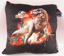 "NEW Universal Studios Jurassic World T-Rex Plush Soft Plush Pillow 17"" X 17"""
