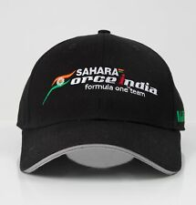 CAP Hat Sahara Force India Formula One Team F1 NEW! VJM10 Embroidered Black