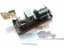 """GMC TANKER TRUCK """"le roi"""" CAMIONS US Army, solido Overlord 89 #4489.? 1:50 en boîte"""