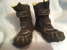 SUPERFIT GoreTex Herbst Winter Stiefel Gr.35 gefütterte Klett Boots