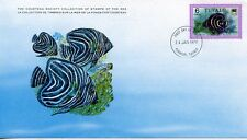 COLLECTION TIMBRES DE LA MER FONDATION COUSTEAU / FAUNE / ¨POISSON 1979