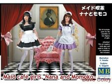 Master Box 35186 1:35th escala Maid Cafe Chicas, Nana y Momoko