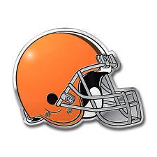 Team ProMark NFL Cleveland Browns Aluminum Color Car Truck Emblem Sticker Decal