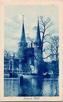 Vtg Postcard 1920s Holland Delft - East Gate - VVE Oostpoort te Delft UNP