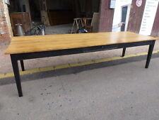 superbe table de 300 cm de ferme usine loft atelier magasin salle à manger