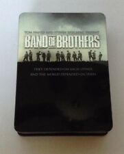 Band of Brothers (DVD, 2002, 6-Disc Set) Tom Hanks & Donnie Wahlberg World War 2