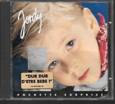 CD ALBUM 10 TITRES--JORDY--POCHETTE SURPRISE--1992