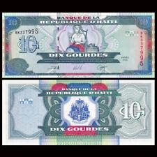 Haiti 10 Gourdes, 2000, P-265a, UNC, Banknotes
