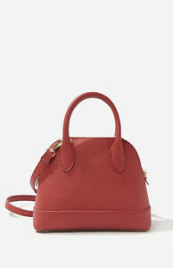 Forever 21 Faux Leather Satchel - Red - NWOT