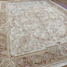 "Laura Ashley Rug Gold Ivory Victoriana Baroque - Large 72""x51"" / 130cmx185cm VGC"
