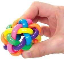 Rainbow Orbit Ball Bouncy Sensory Toy - Fiddle Fidget Stress Sensory Autism ADHD