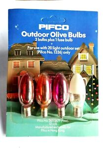 pifco Outdoor Olive Bulbs