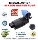 1X Windscreen Washer Pump For Saab 9-5 Estate 2.3 Turbo 2003-2009