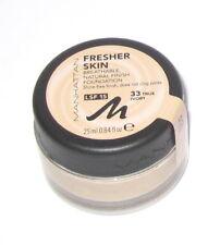 MANHATTAN ***Fresher Skin*** Natural Finish Foundation, 33 True Ivory, NEU !!!