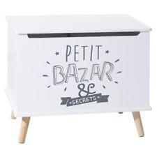 Coffre de rangement en bois pour enfants Petit Bazar Atmosphera