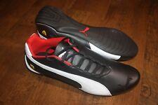 Brand New In Box Men's PUMA Ferrari Future Cat OG Trainers Shoes Black or Red