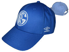 Umbro FC Schalke 04 Basecap S04 Fan Cap Königsblau verstellbar Hut Kappe Mütze