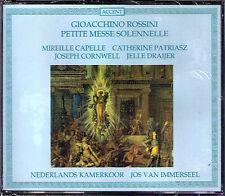 ROSSINI Petite Messe Solennelle JOS VAN IMMERSEEL 2CD Capelle Patriasz Cornwell