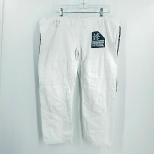Tatami Pants White Womens Pride & Passion Jiu Jitsu Cropped Fightwear Size F3C
