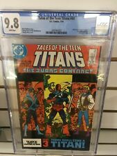 TALES of the TEEN TITANS #44 CGC 9.8 ~ NIGHTWING ~ White Pages