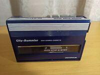 vintage cassette player Universum City- Bummbler