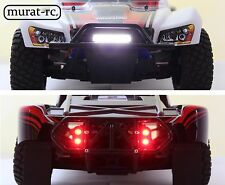LED lights front/rear for RPM bumpers Traxxas Slash 4x4 2WD waterproof murat-rc