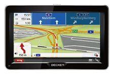 Becker Ready 70 LMU Navigationsgerät 7 Zoll Navi 45 Länder Europa Karte Schwarz