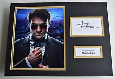 Charlie Cox SIGNED autograph 16x12 photo display Daredevil Marvel AFTAL & COA