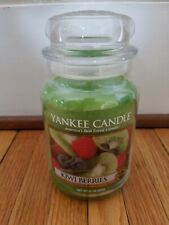 Yankee Candle Brand New Kiwi Berries Rare White Label 22 Oz. jar