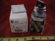 Allen Bradley 800T-J2KC7AAEE Ser T Selector Switch 3 Position Maintained 30mm