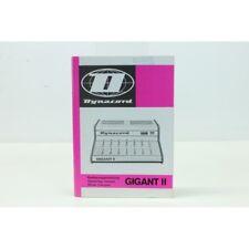 Dynacord Gigant II, Operating Manual w. Schematics, German,English,French (No.1)
