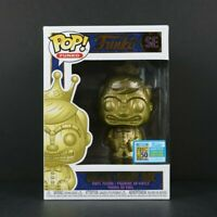 Funko Pop Golden Freddy Idol SDCC 2019 Freaky Tiki Fundays LE1600 Soft Protector