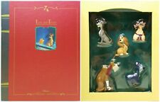 The Lady And Tramp Storybook Christmas Collection Ornament Set No. 16147 NRFB