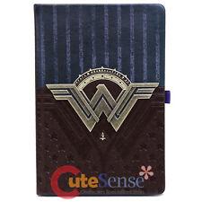 DC Comics Wonder Woman Journal Logo Premium A5 Notebook Leather Sketchbook
