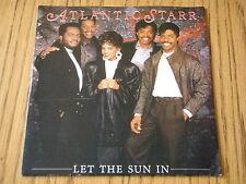 """ATLANTIC STARR - LET THE SUN IN      7"""" VINYL PS"""