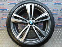 "BMW 3 4 Series 19"" Alloy Wheel Style 442 8.5J Bridgestone RFT F30 F32 7846781"