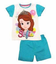 Vêtements ensemble pyjama bleu pour fille de 3 à 4 ans