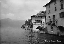 Cartolina Nesso Lago di Como panorama parziale dal Lago 1953