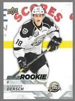 2018-19 Alexander Dersch Upper Deck CHL Star Rookie - Charlottetown Islanders