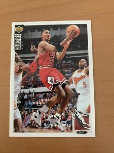 Carte NBA Scottie Pippen Chicago Bulls Upper Deck Collector Choice 1994
