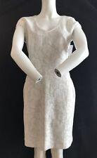 BNWT REISS Beautiful Valentina Lace Jersey Fit Dress White Size  UK14 Save £79!!