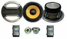 "6.5"" 2 Way Competition Splits Car Audio Speakers 100rms 350w max 107dB"