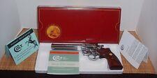 Vintage 1984-1988 150 Year Colt King Cobra Anaconda Python Pistol Box & Pw