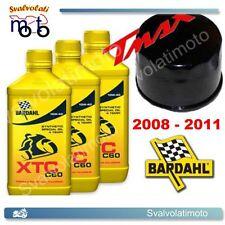 KIT TAGLIANDO YAMAHA T-MAX TMAX 2009 3 LITRI BARDAHL XTC C60 10W40 + FILTRO OLIO