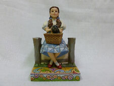 Jim Shore Dorothy Toto I Keep Forgetting Im Not In Kansas Wizard Of Oz Figurine