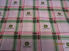 John Deere pink girly baby toddler sheets set