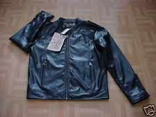 Revolve Men's Black Faux Leather Jacket Large