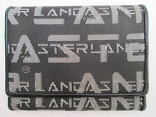 -AUTHENTIQUE portefeuille/porte-monnaie LANCASTER toile et cuir TBEG vintage