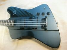Epiphone Thunderbird IV Goth Gothic Black Electric Bass
